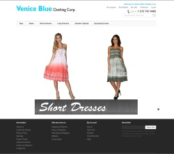 Venice Blue Clothing